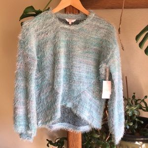Candie's Teal sweater small